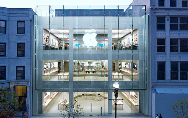 Apple Store Boylston Street Boston - Massachusetts : Apple accusée de se servir abusivement d