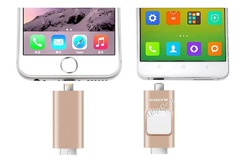 POFAN P8 Cles USB iphhone android - POFAN P8 : clé USB pour iPhone / iPad & smartphones Android