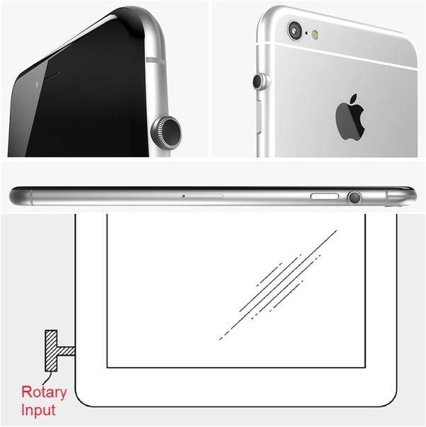 brevet apple couronne digitale iphone - Brevet : Apple pourrait ajouter une couronne digitale aux iPhone & iPad
