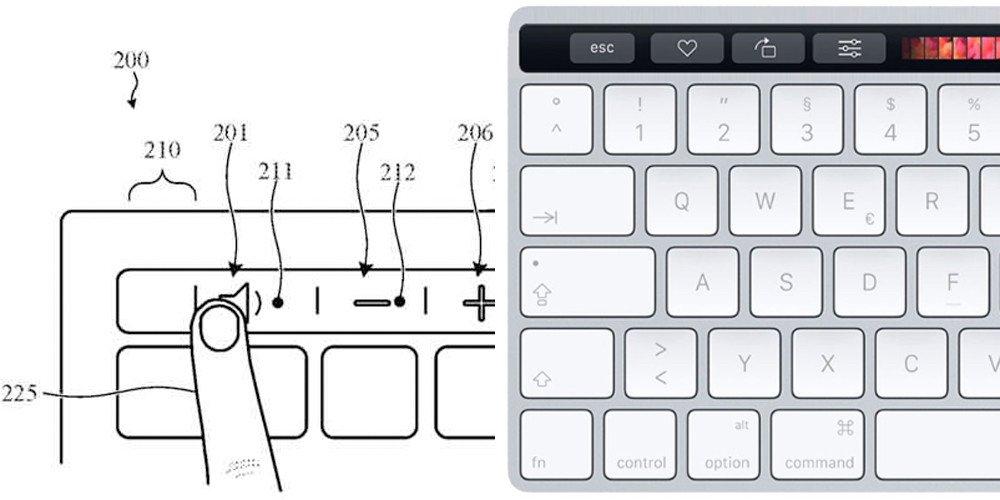 magic keyboard touch bar - Brevet : Apple envisagerait un Magic Keyboard avec Touch Bar