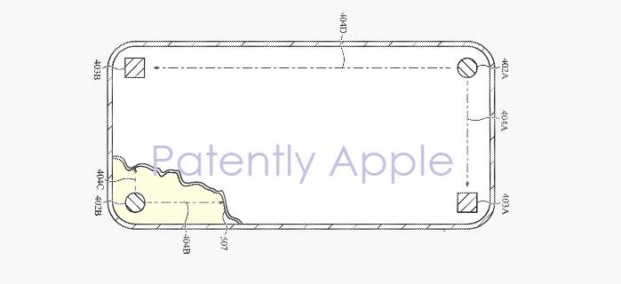 brevet apple iphone detection ecran casse - Brevet : l