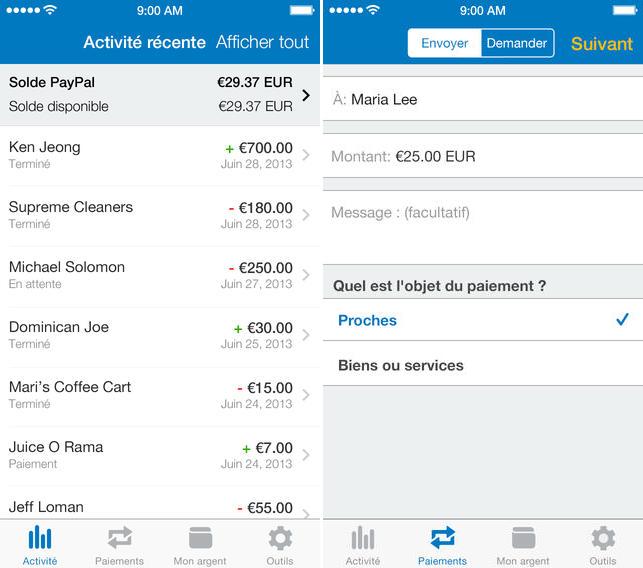 Paypal iPhone - PayPal pourrait aider Apple à développer le paiement mobile