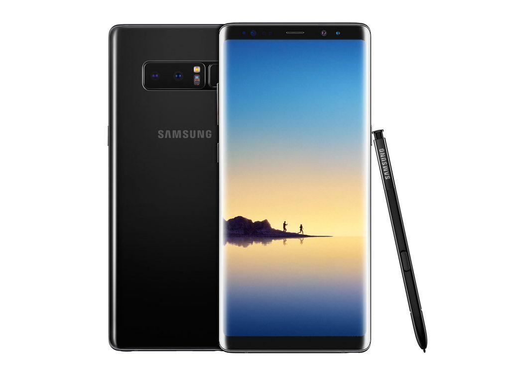 galaxy note 8 1024x768 - Photophones : le Galaxy Note 8 à égalité avec l