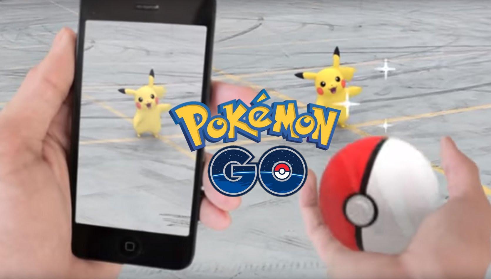 pokemon go pikachu pokeball 1024x582 - Pokémon GO : même Siri s