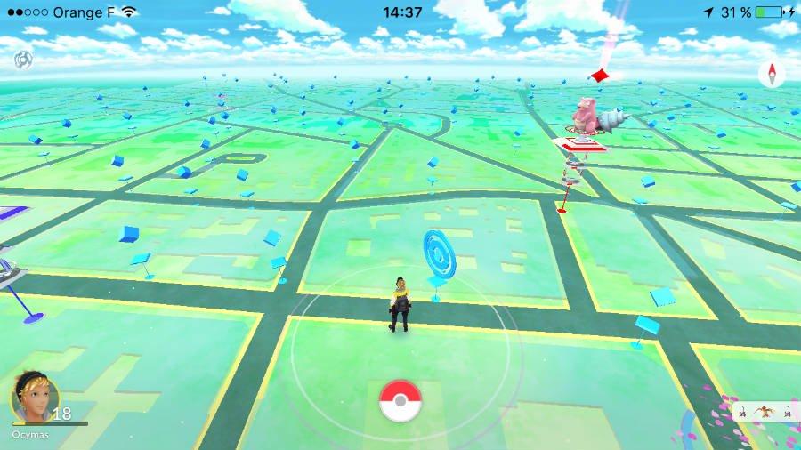 Pokemon GO mode paysage iphone - Astuce Pokémon GO : jouer en mode paysage sur iPhone sans jailbreak