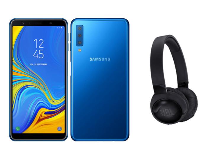 Image 1 : [Promo] Samsung Galaxy A7 + casque JBL T600BTNC à 249 €