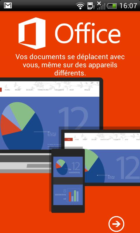 Publi info - Office 365: retrieve all your documents on mobile