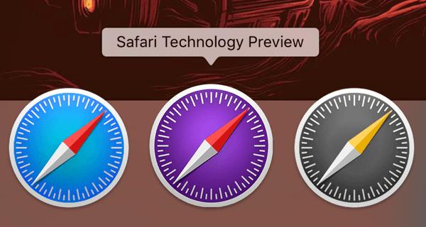 Safari Technology Preview - Safari Technology Preview : Apple relâche la 18e version