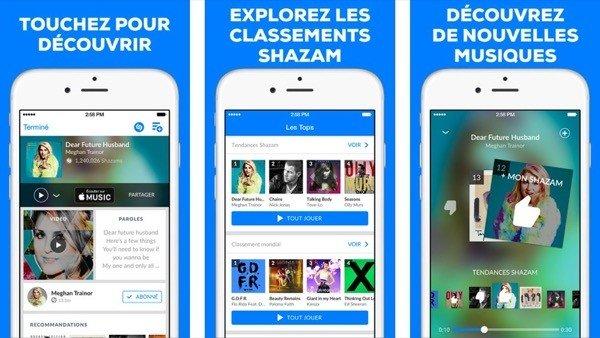 Shazam Apple Music - Shazam se met à jour et supporte Apple Music