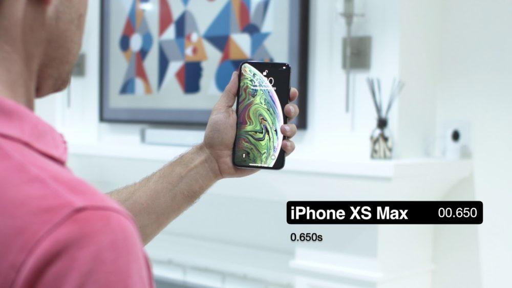 FaceID test Le Face ID de liPhone X et de liPhone Xs comparés en vidéo