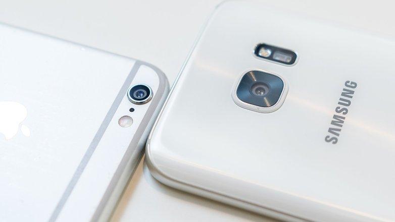 samsung galaxy s7 vs iphone 6s appareil photo - États-Unis : le Galaxy S7 se vend mieux que l'iPhone 6S