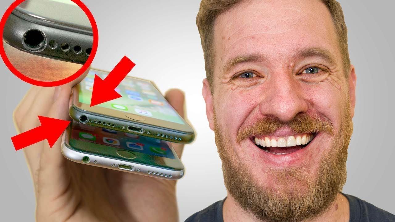 iphone 7 prise jack fonctionnelle 1024x576 - Insolite : il ajoute une prise jack fonctionnelle à son iPhone 7