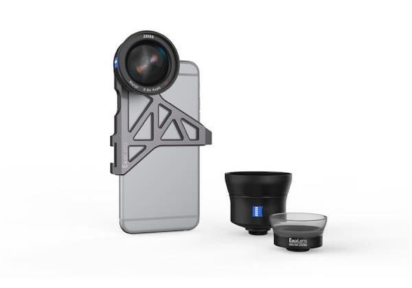 bonnette ZEISS iphone - ZEISS ExoLens : 3 compléments optiques pour iPhone 6 & 6S