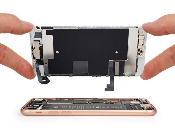 ifixit iphone 8 - iFixit : les iPhone 8 sont plus difficiles à réparer que les iPhone 7
