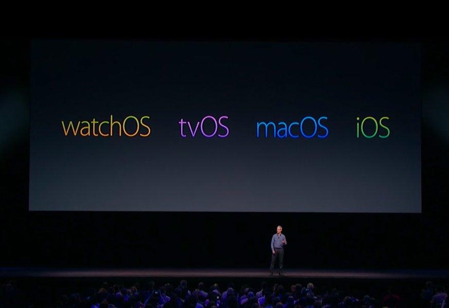 watchos tvos macos ios - tvOS 10.2, macOS 10.12.4, watchOS 3.2 : bêtas 4 disponibles