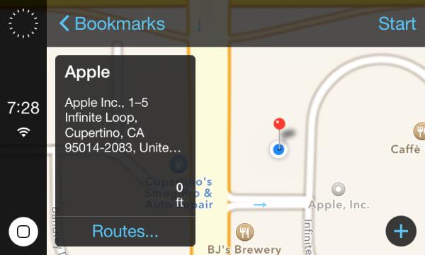 iOS in the car 1 - iOS in the Car : 3 captures d