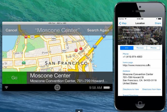 iOs in the car 7.0.3 - iOS in the Car : nouvelle vidéo sur iOS 7.0.3