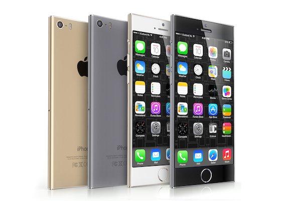 iPhone 6 concept iCulture - iPhone 6 : nouveau concept inspiré de l