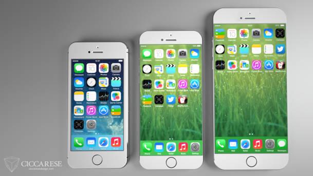 iphone 6 concept - iPhone 6 : sortie de deux modèles 4,7 et 5,5 pouces début septembre