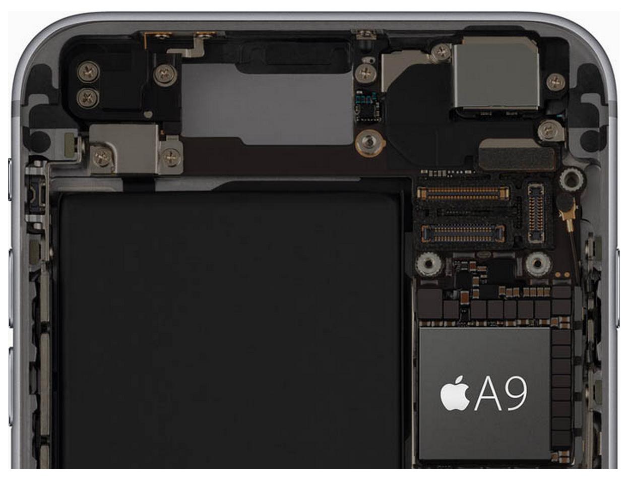 iPhone6sPlus A9 1024x785 - iPhone 6s Plus vs iPhone 6 Plus : test de rapidité d