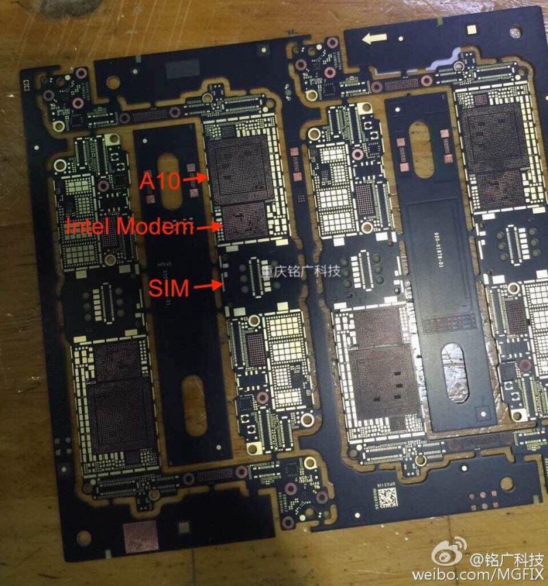 iPhone 7 modem Intel A10 - iPhone 7 : Apple pourrait commander une partie des modems à Intel