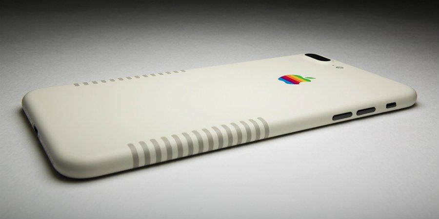 iphone 7 plus retro colorwave - iPhone 7 Plus rétro : un sublime modèle à près de 1900 dollars