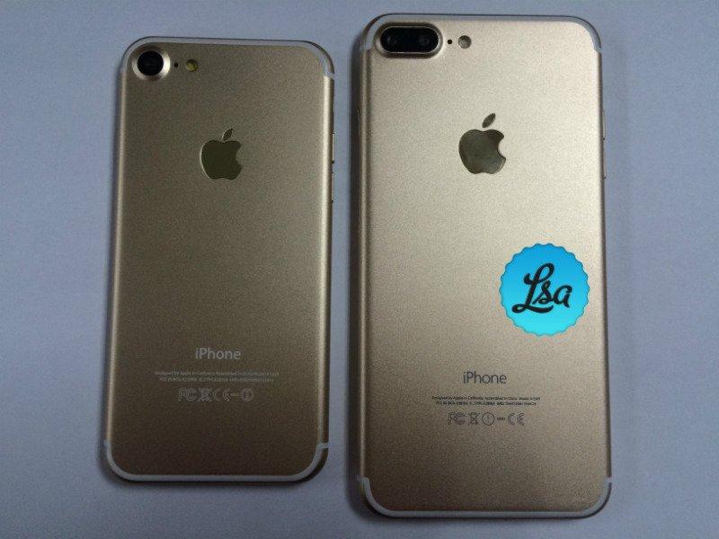 iPhone 7 Plus iPhone 7 or LsA - iPhone 7 et 7 Plus : de nouvelles photos des modèles Or