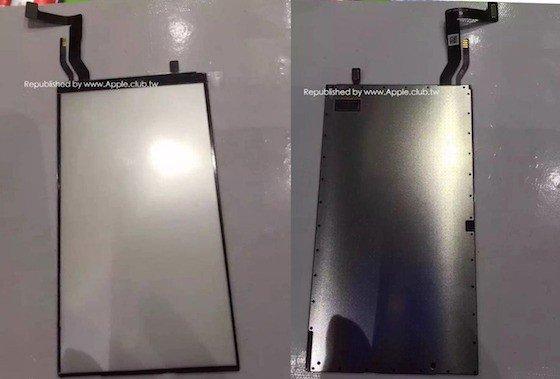 iPhone 7 Composant panneau - iPhone 7 : premières photos d