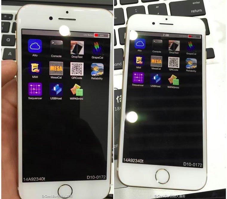 iphone 7 prototype fonctionnel - iPhone 7 : photos et vidéo d