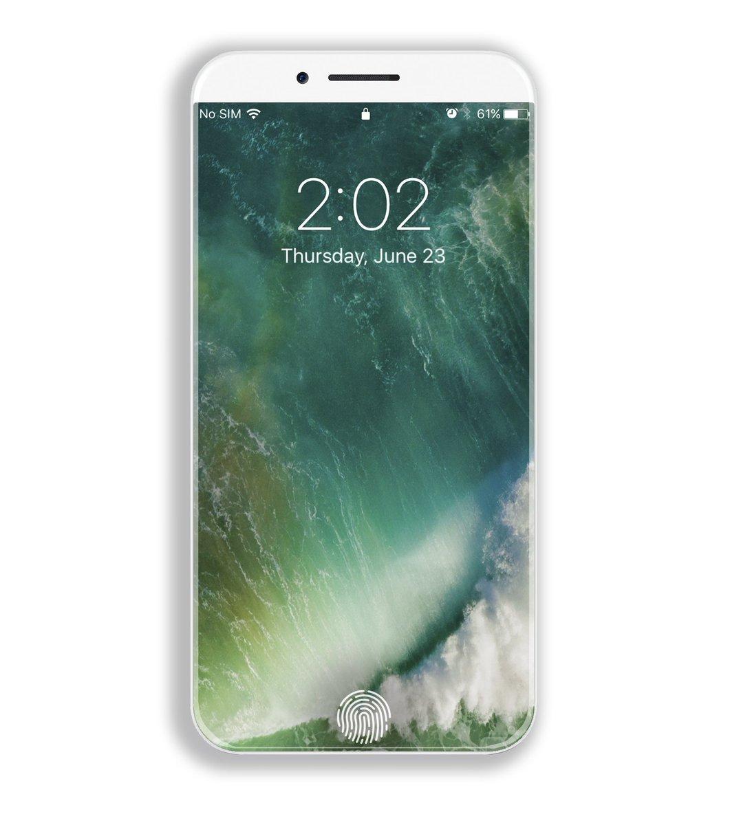 iPhone 8 concept Veniamin Geskin touch id - iPhone 8 : Apple aurait déjà commandé 70 millions d