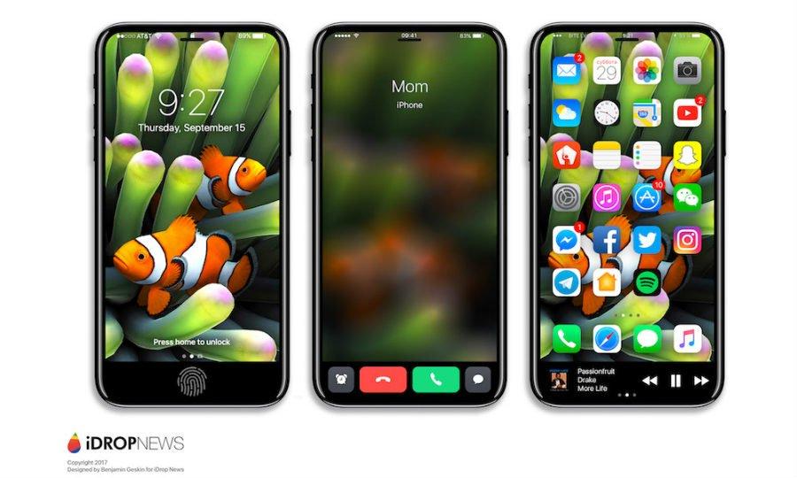 iPhone 8 Function Area iDrop News Exclusive 1 - iPhone 8 : un concept axé sur la