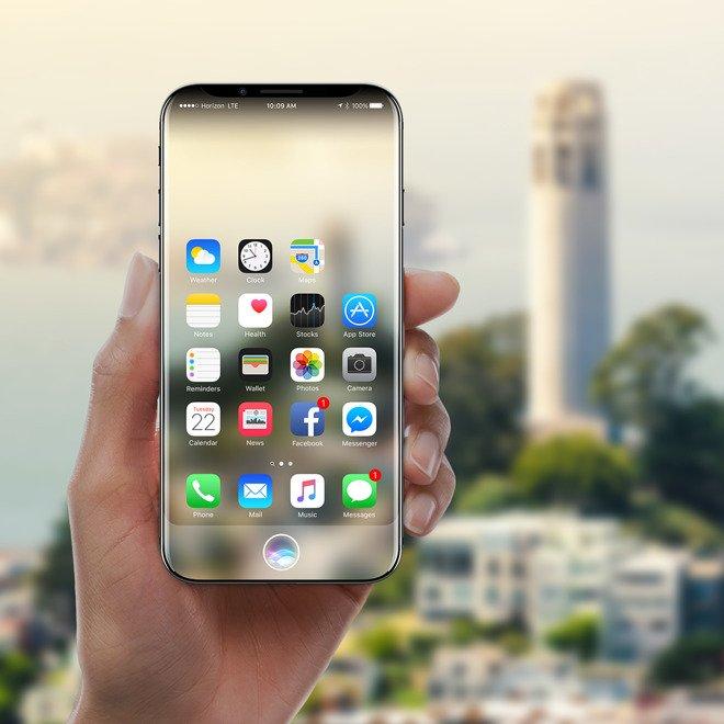 Concept iPhone 8 Siri 1 - iPhone 8 : un concept avec de la réalité augmentée basée sur Siri