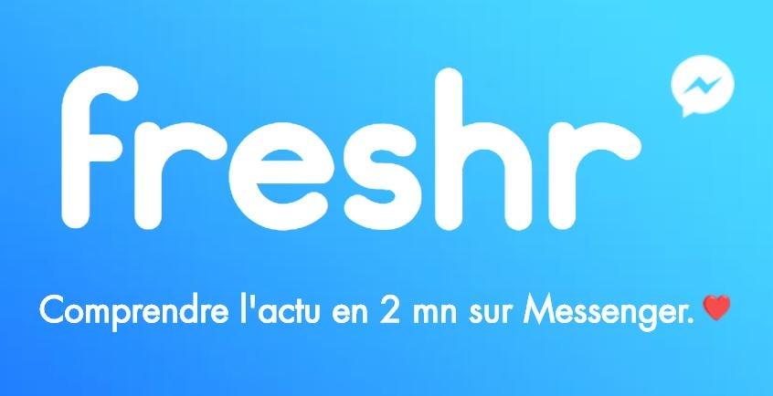 freshr logo chatbot messenger - Amazon, Apple, Facebook, LinkedIn, : les brèves high-tech du 18/08
