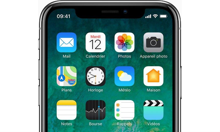 iphone x haut ecran 1 - iPhone X : de nouvelles caractéristiques dévoilées (RAM, batterie, puce A11)