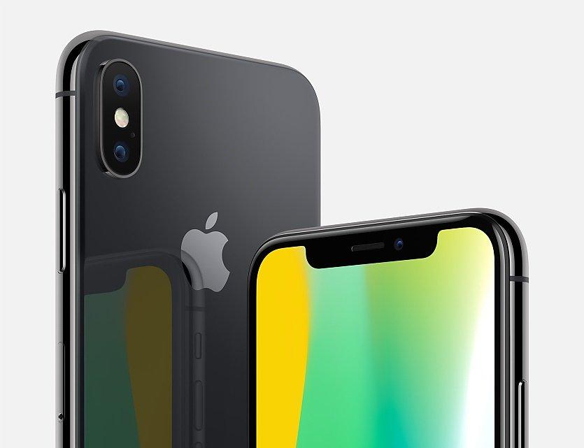 iphone x gris sideral apple - iPhone X: le smartphone ne devrait pas battre de records avant 2018