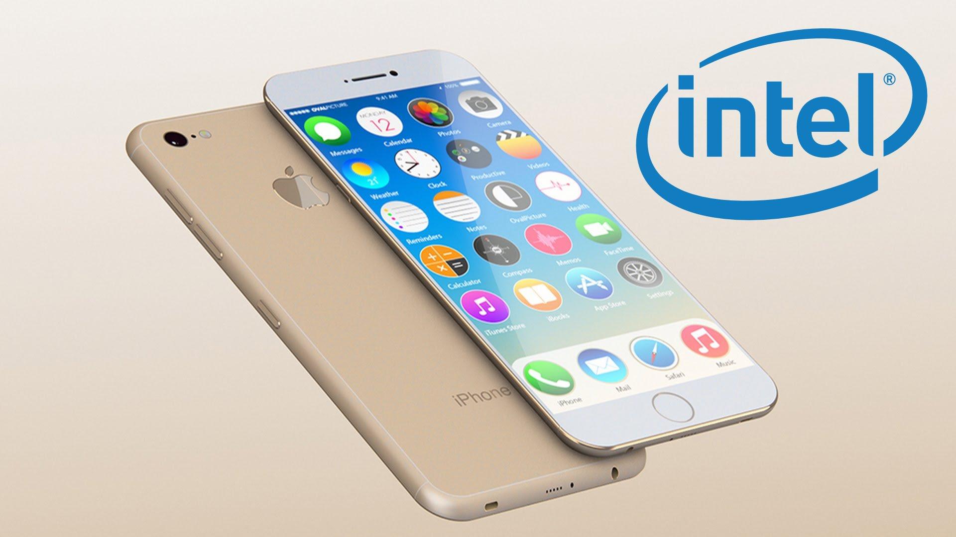 iphone7 la fourniture des 50 pourcent des puces reseau serait confiee a intel - iPhone de 2018 : Intel pourrait produire le processeur A12 d