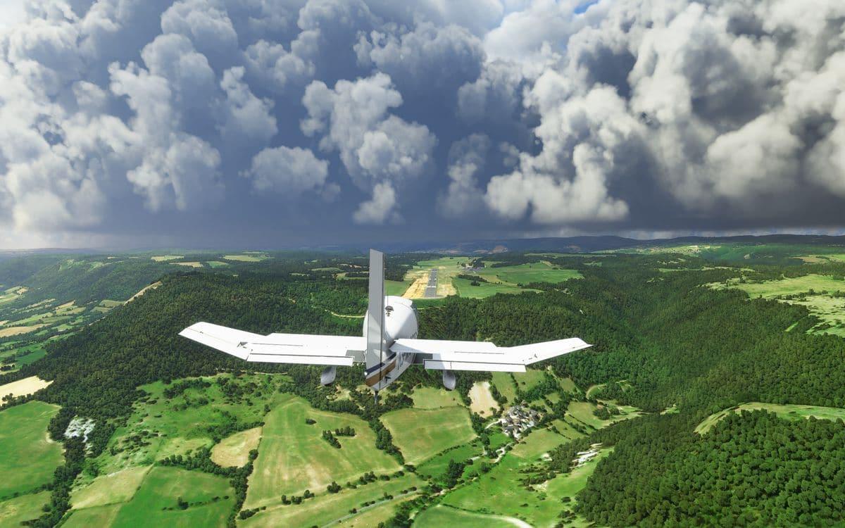 Flight Simulator: already more than 2 million PC players, it's a hit