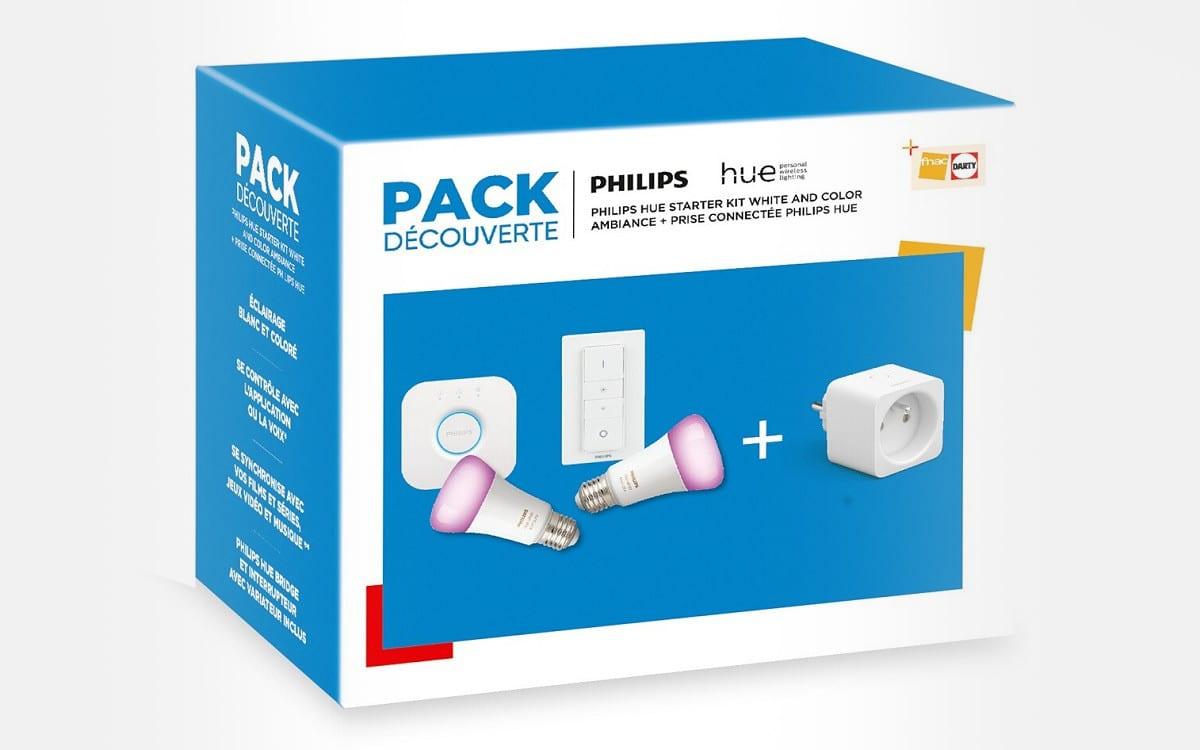 pack philips hue darty fnac