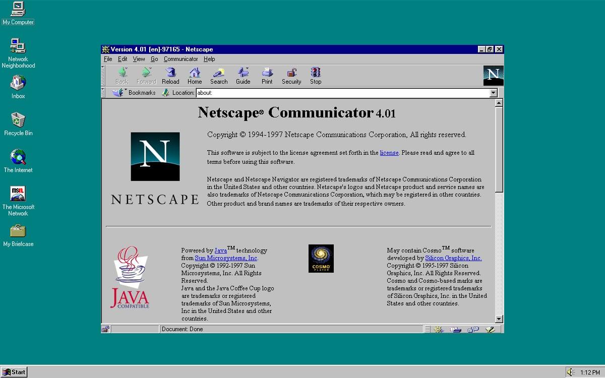 Netscape Communicator