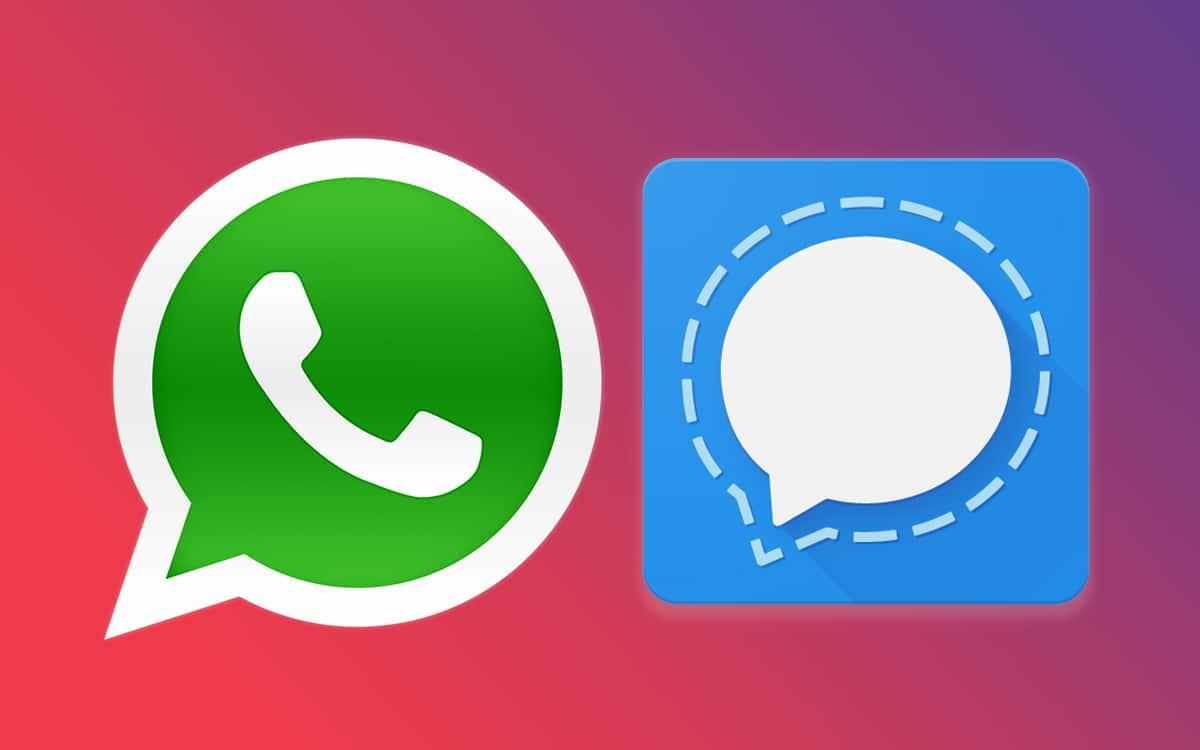 whatsapp signal comment choisir application messagerie
